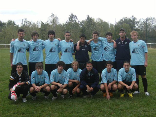 L'équipe U19 du Lauragais en déplacement à Lectoure pour le compte du 2ème tour de la Coupe Gambardella.