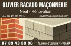 RACAUD-MACONNERIE